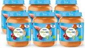 NaturNes Bio Maaltijdpotje Zoete aardappel, Paprika, Tomaat, Kip 8+ mnd - 6 potjes biologische babyvoeding