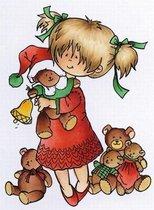 Marianne Design - Hetty Meeuwsen - Clearstamp - Hugging bears - HM9467