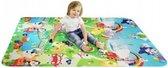 Afbeelding van Grote XL Speelmat / speel kleed Vloerkleed kinderen - Groot Baby & Kindervoerkleed - Dieren Kleed Jongens & Meisjes speelkleed - Binnen & Buiten | waterafstotend speel mat