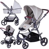 FreeON Kinderwagen Dream 3 in 1 Grey (incl. autostoel)