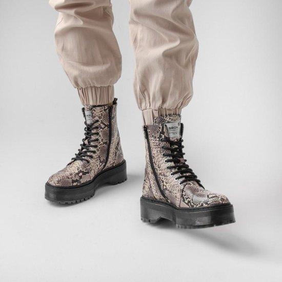 Bronx Boots | Wit Snake