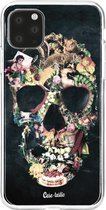 Apple iPhone 11 Pro Max hoesje Vintage Skull Casetastic Smartphone Hoesje softcover case
