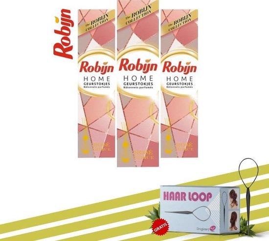 Robijn Home Geurstokjes Rose Hique + Haarloop