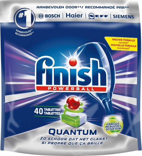 Finish Quantum Regular - Vaatwastabletten - 40 tabs
