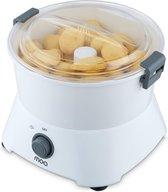 MOA Aardappelschiller Elektrisch - Schilmachine - Potato Peeler - Dunschiller - Wit - PP09W