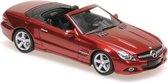 Mercedes-Benz SL-Class R230 2008 Red Metallic
