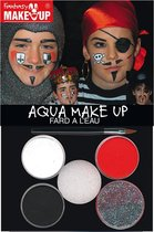 FANTASY Ridder & Piraten Schminkpakket - Aqua Make-up Schminkset