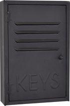 LOFT42 Keys Metalen sleutelkastje Zwart - Industrieel - 30x20x6,5