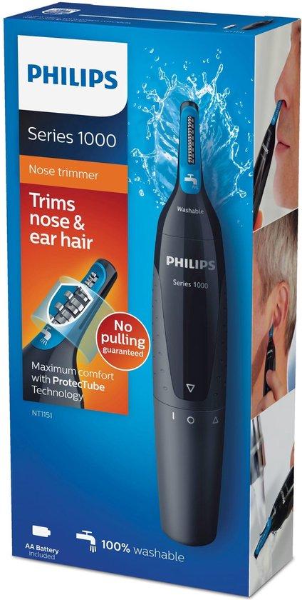 Philips Norelco NOSETRIMMER Series 1000 Comfortabele neus- en oortrimmer