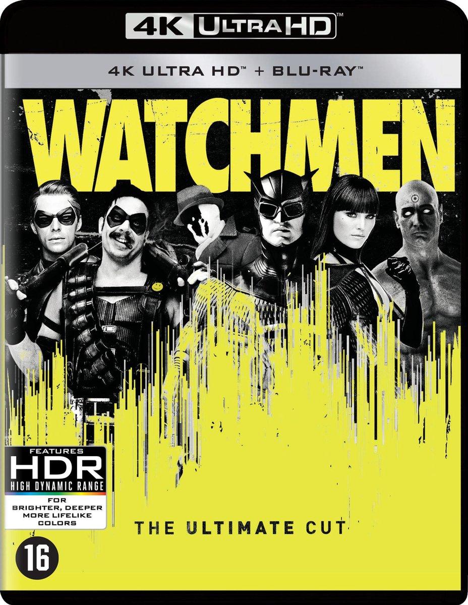 Watchmen: The Ultimate Cut (4K Ultra HD Blu-ray)-