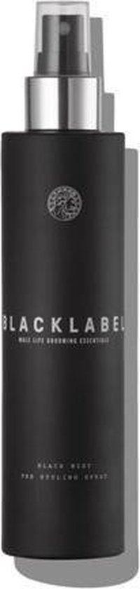 Black Label Grooming Black Mist Pre-Styling Spray 150 ml.