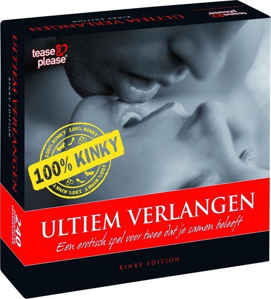Tease & Please Ultiem verlangen 100% Kinky - Rood - Erotisch Bordspel