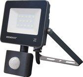 Groenovatie LED Breedstraler - 10W - Sensor - Waterdicht IP54 - Compact - Neutraal Wit