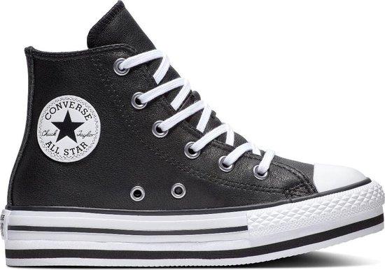 bol.com | Converse All Stars Platform Eva-Hi 666391C Zwart ...