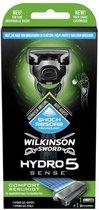 Wilkinson Sword scheermesje Hydro 5 sense met 7 gel-depots
