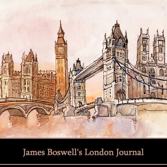 Boek cover Boswells London Journal van James Boswell (Onbekend)