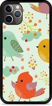 iPhone 11 Pro Hardcase hoesje Cute Birds