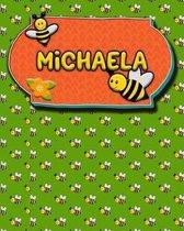 Handwriting Practice 120 Page Honey Bee Book Michaela
