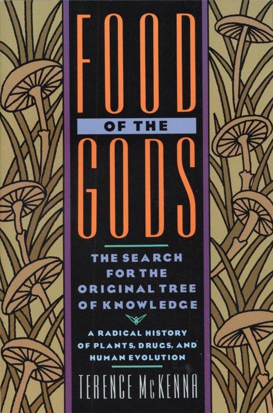 Boek cover Food of the Gods van Terence mckenna (Paperback)
