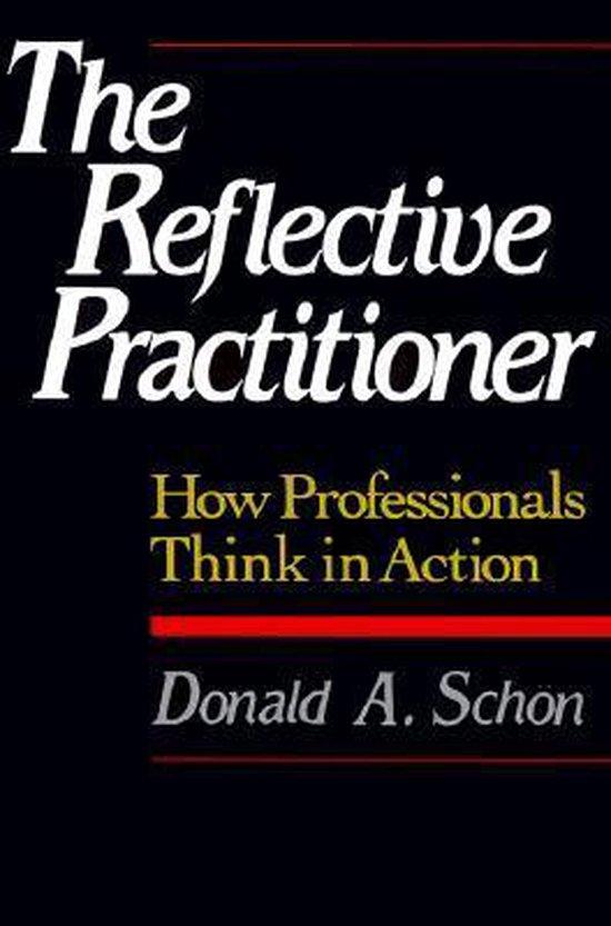 Boek cover The Reflective Practitioner van Donald A. Schoen (Paperback)