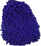 ProClean - Microvezel Washandschoen - Blauw - Auto Was Handschoen - Schoonmaak producten - Wassen & Schoonmaken - Microvezeldoek - Autohandschoen - Schoonmaakdoekjes - Schoonmaakborstel | Auto schoonmaakmiddelen