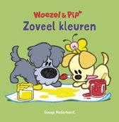 Boek cover Woezel & Pip  -   Zoveel kleuren van Guusje Nederhorst