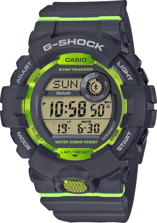 Casio G-Shock Heren Horloge GBD-800-8ER - 54 mm