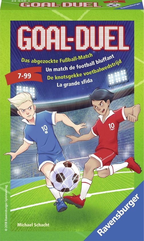 Afbeelding van het spel Ravensburger Goal Duel - Pocketspel