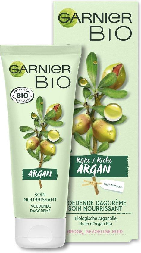 Garnier Bio Dagcrème -50 ml - Droge en gevoelige huid - Rijke Argan