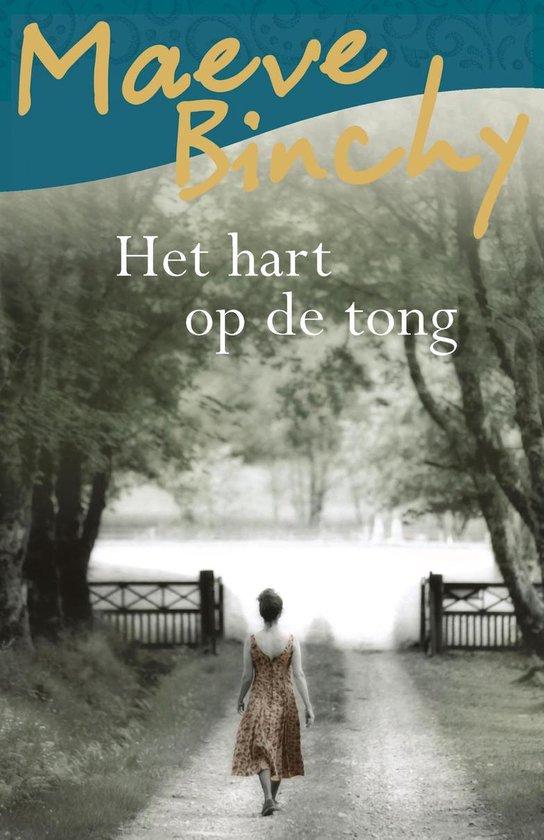 Boek cover Het hart op de tong van Maeve Binchy