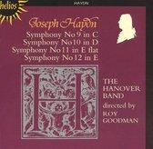 Haydn: Symphonies nos 9-12 / Roy Goodman, Hanover Band