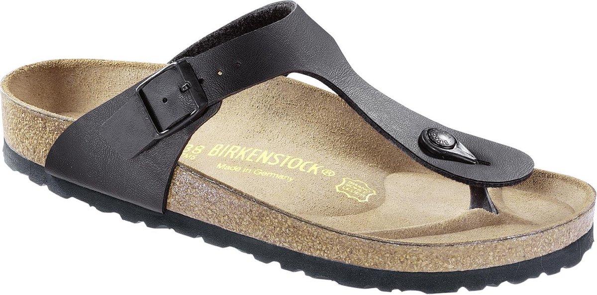 Birkenstock Gizeh Dames Slippers Regular fit - Black - Maat 39