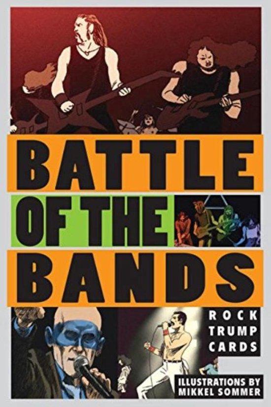 Afbeelding van het spel Battle of the bands : rock trump cards