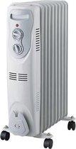 Olie radiator - 2000 W - 9 Elementen - Wit