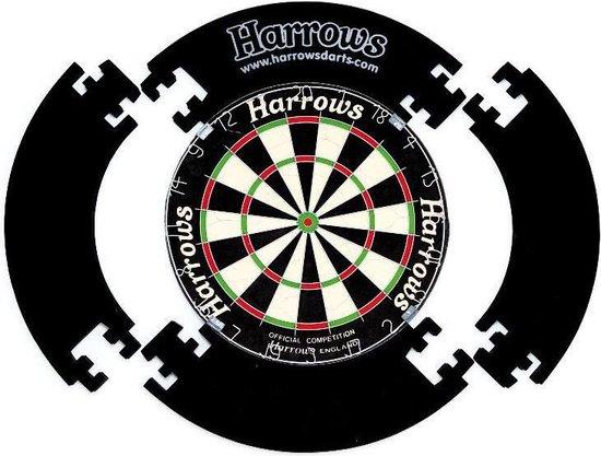 Afbeelding van het spel Harrows Dartbord Surround Zwart - 4 pieces