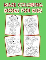 Maze Coloring Books for Kids