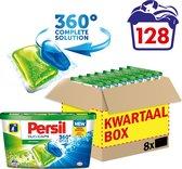 Persil Duo-Caps Universal Wasmiddel Capsules - Kwartaalbox - 128 wasbeurten