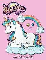 Unicorn Book for Little Girl
