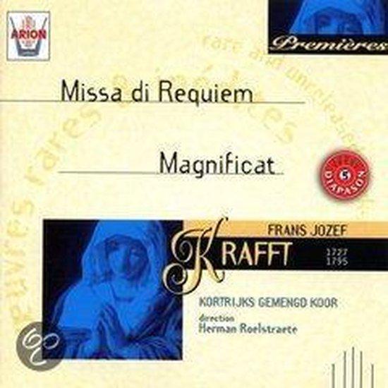 Premieres - Krafft: Missa di Requiem, etc / Roelstraete