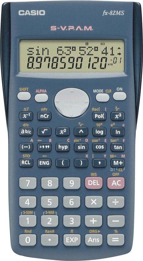 Afbeelding van Rekenmachine Casio FX-82MS