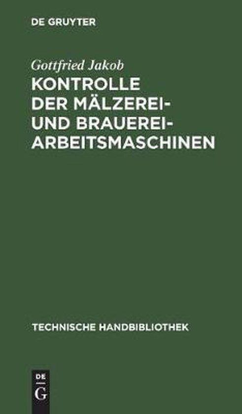 Kontrolle Der Malzerei- Und Brauerei-Arbeitsmaschinen