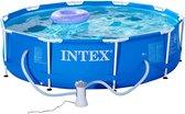 Intex - Metalen Frame Zwembad - 305x76cm