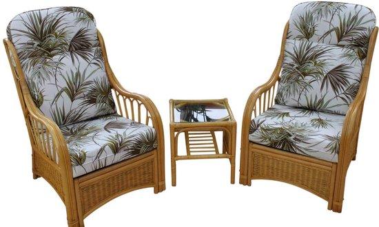 Garden Market Place Sorrento Rieten serre meubels set van