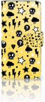 LG G5 Bookcase Hoesje Punk Yellow