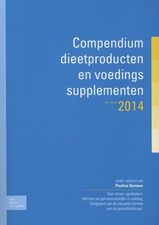 Compendium dieetproducten en voedingssupplementen / 2014 - none |