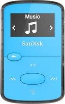 Sandisk Mp3 Clip Jam - mp3-speler 8Gb - Lichtblauw