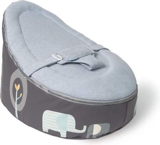 Baby Zitzak Doomoo.Bol Com Doomoo Seat Baby Zitzak Elephant Blue