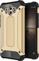 Let op type!! For Huawei  Mate 10 Magic Armor TPU + PC Combination Case(Gold)