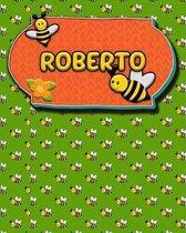 Handwriting Practice 120 Page Honey Bee Book Roberto
