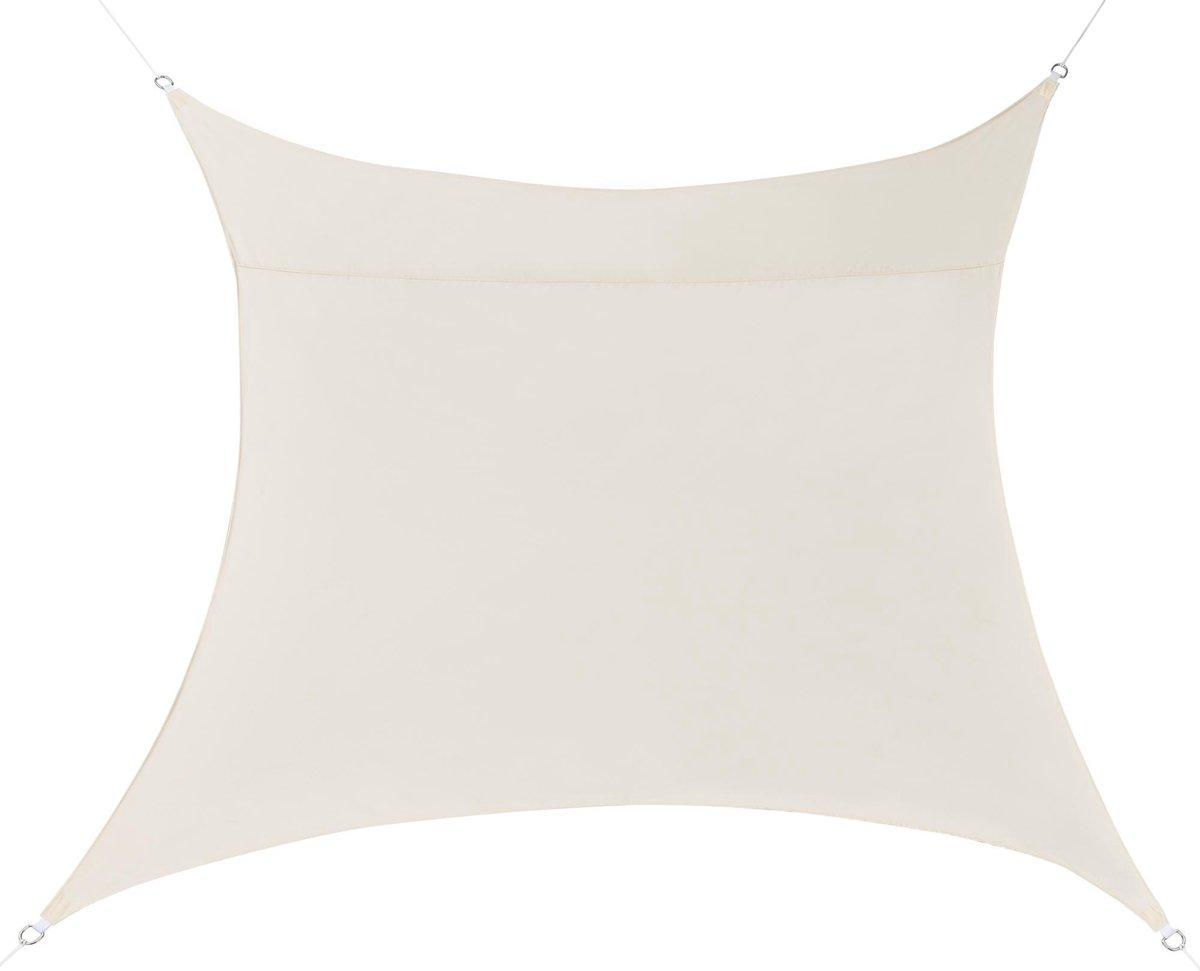 Schaduwdoek - waterafstotend vierkant 3x3 m zandkleurig